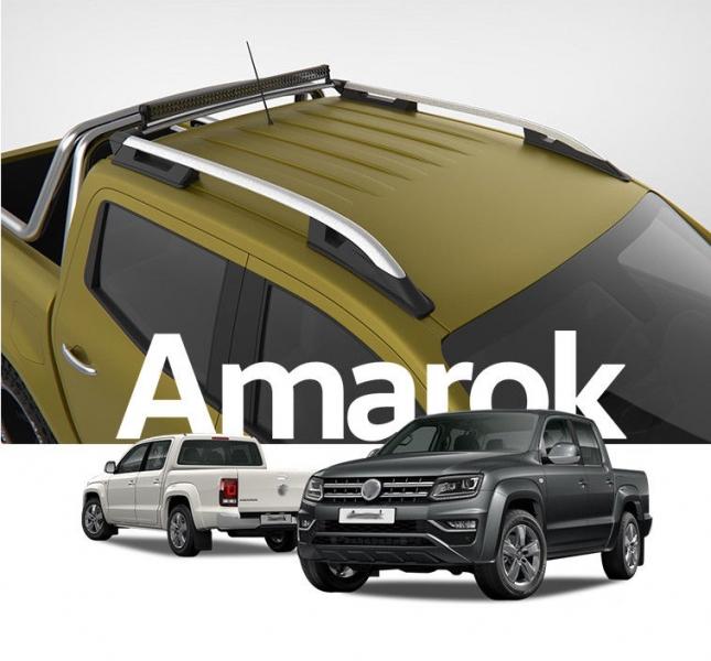 VW AMAROK 旅行架 銀色 縱桿 車頂架 AMR01 || 皮卡 貨卡 Ranger